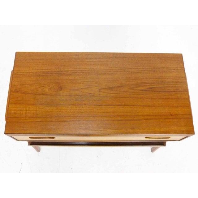 Image of PMJ Mid-Century Danish Modern Teak Side Table