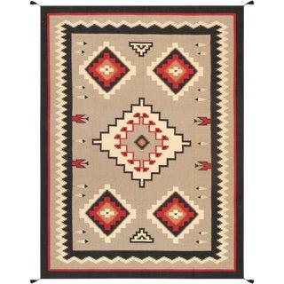 "Navajo Hand Woven Area Rug- 8' 8"" x 12'"