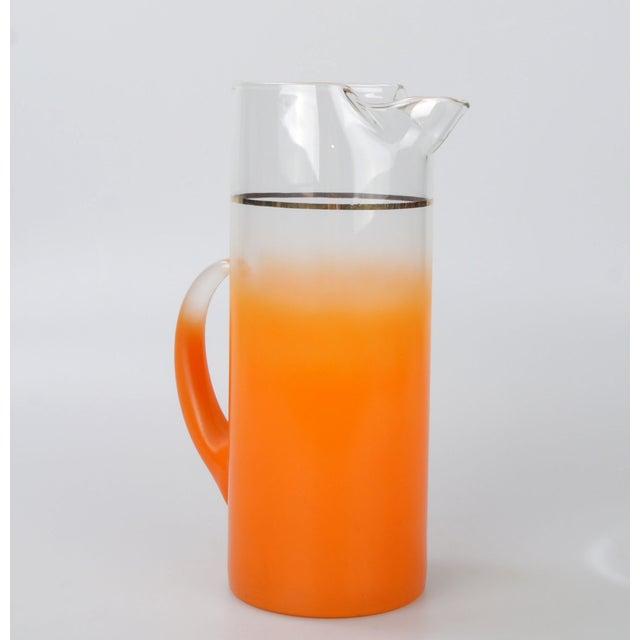 Image of Orange Ombré Pitcher
