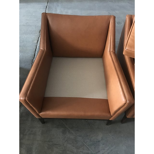 Mid-Century Modern Lounge Chairs - A Pair - Image 8 of 9