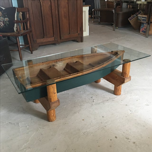 Row Boat Coffee Table Chairish