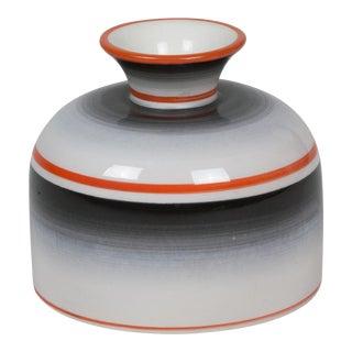 Striped Porcelain Vase by Gio Ponti for Ginori