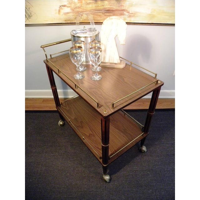 Mid Century Bar Cart or Tea Cart - Image 5 of 7