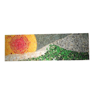Mid-Century Modern Hand Made Wall Mosaic