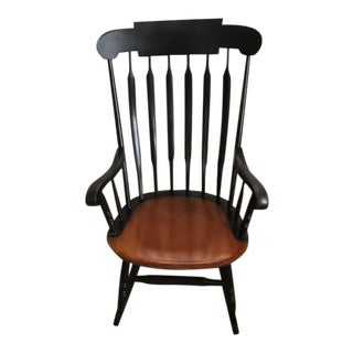 Hitchcock Maple Rocking Chair