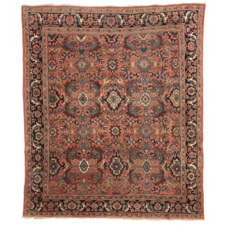 RugsinDallas Hand-Knotted Wool Persian Mahal Rug - 8′4″ × 10′