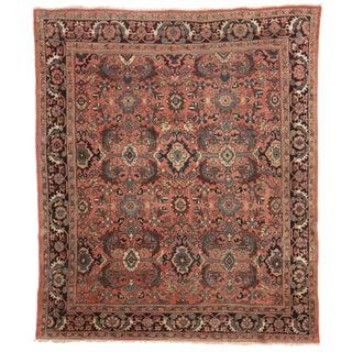 RugsinDallas Hand-Knotted Wool Persian Mahal Rug - 8′4″ × 10′