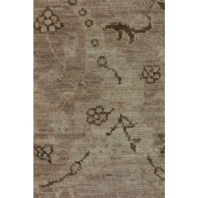"New Oushak Hand Knotted Area Rug - 5'2"" x 6'3"" - Image 3 of 3"