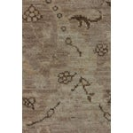 """Image of New Oushak Hand Knotted Area Rug - 5'2"""" x 6'3"""""""
