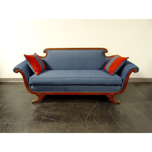 Antique Duncan Phyfe Style Sofa W New Upholstery Chairish