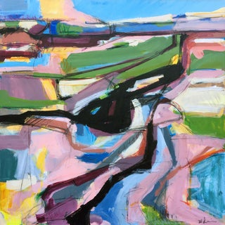 Big Island Road Acrylic Painting