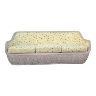 Unique Deco Rattan Case Sofa by Ficks Reed