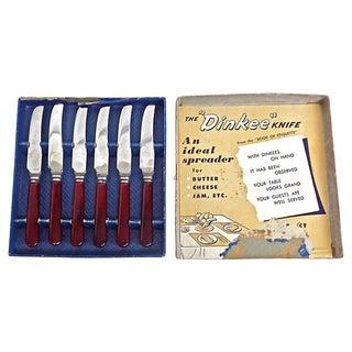 Art Deco Bakelite Dinkee Knives - Set of 6