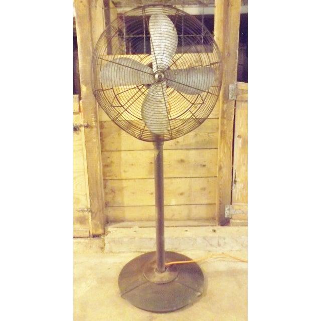 """Big Old Hunter Industrial Pedistal Fan 5' 8"""" Tall - Image 8 of 8"""