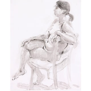 Lounging Nude by Lois Davis