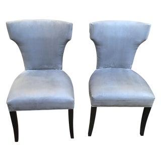 Crate & Barrel Sasha Dining Chairs - Set of 6
