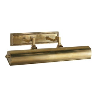 "Alexa Hampton for Visual Comfort ""Dean"" 18"" brass library light"