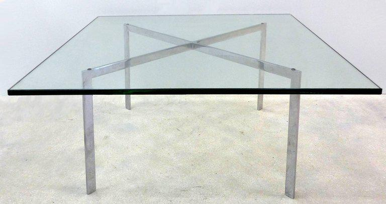 Mies Van Der Rohe Barcelona Coffee Table By Knoll   Image 3 Of 9
