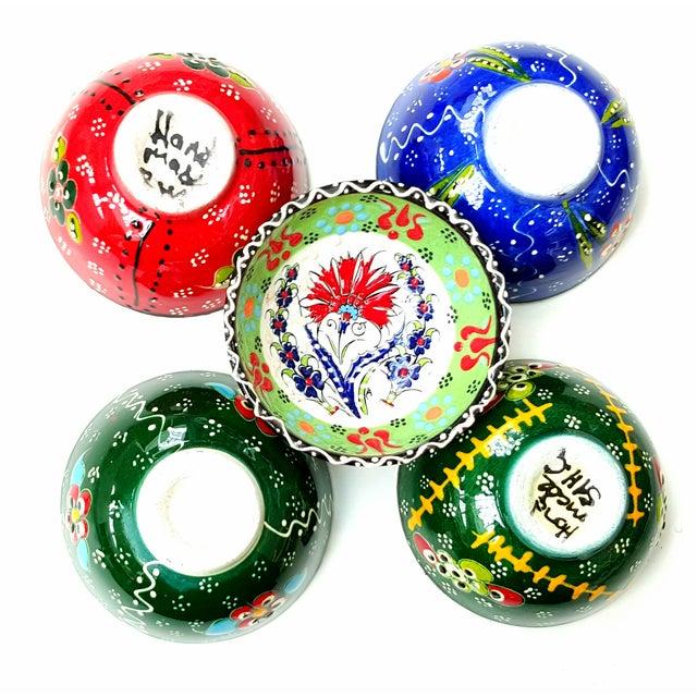 Turkish Tile Bowls - Set of 5 - Image 5 of 5