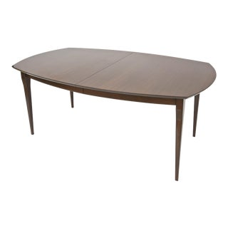 Carlo de Carli for Singer and Sons Walnut Extension Dining Table
