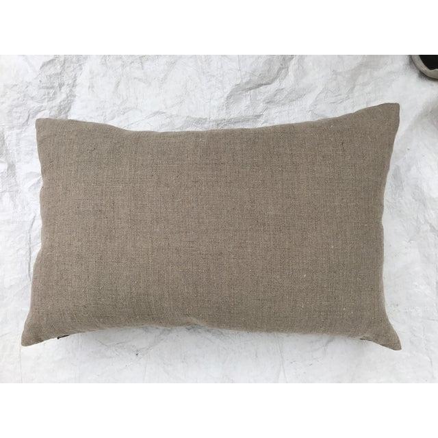 Asian Serpent Gray Batik Pillows - A Pair - Image 11 of 11