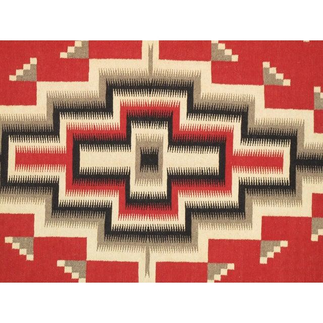 Navajo Decorative Hand-Woven Rug - 8' X 10' - Image 2 of 3
