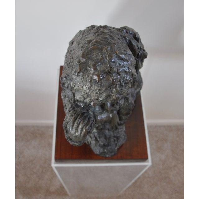 "Victor Salmones ""Madonna Con Nino"" Bronze Statue - Image 3 of 9"