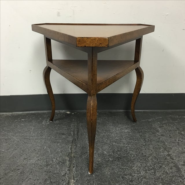 Minton-Spidell French Corner Side Table - Image 2 of 9