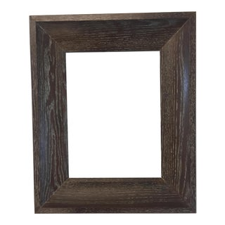 Limed Oak Mid-Century Frame