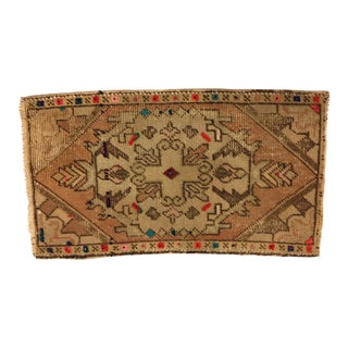Hand Knotted Turkish Tribal Rug - 1′7″ × 2′11″