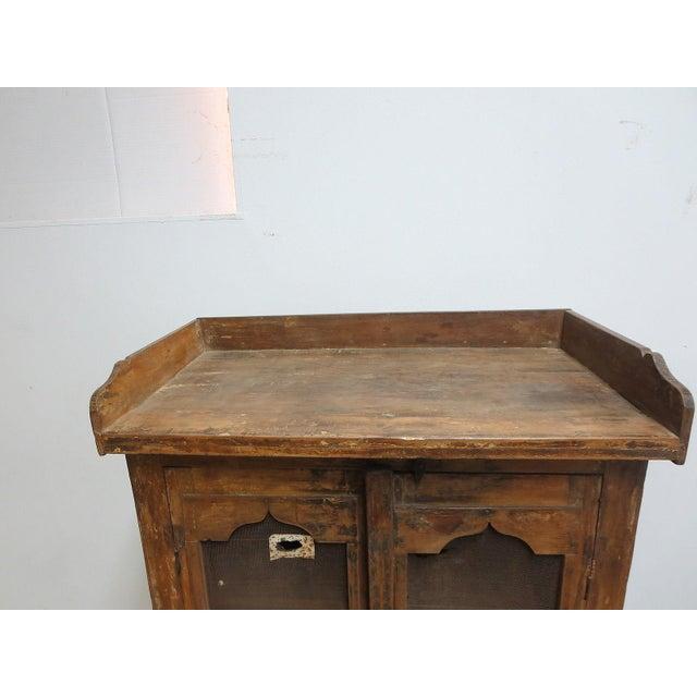 Antique Primitive China Cabinet Cupboard - Image 5 of 8