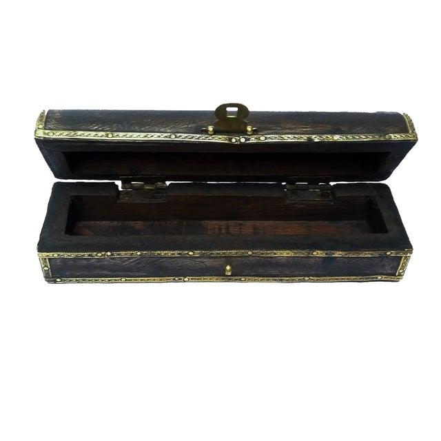 Image of Mhart Gilded Stripe Jewelry Box