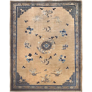 "Antique Peking Chinese Carpet - 17'9"" x 13'11"""