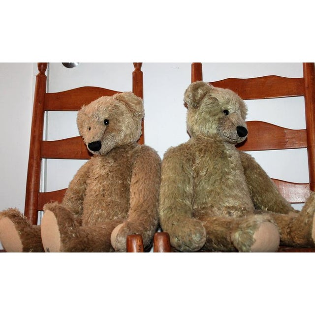 Pair of Folky Teddy Bears Made for Harrods of London - Image 7 of 8