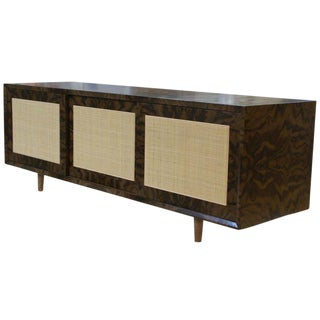 Adams Caned-Door Console