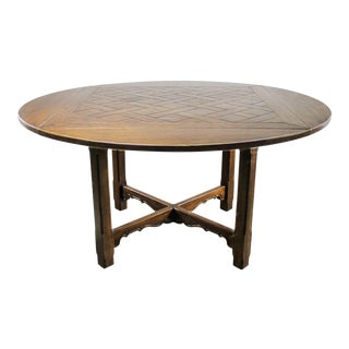 Vintage Oak Pub Table