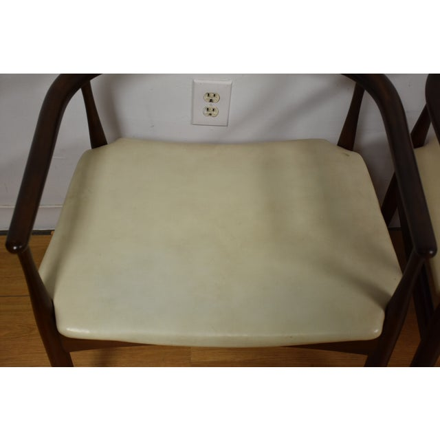 Image of Ib Kofod Larsen for Selig Chairs - A Pair