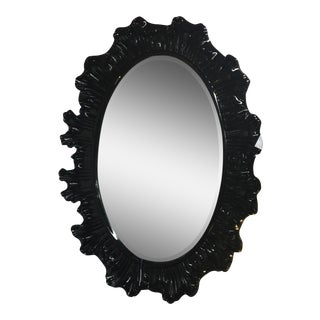 Hollywood Regency Modern Black Mirror
