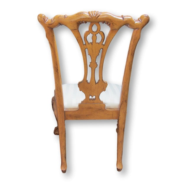 Toscano Chippendale Dining Chairs - Set of 8 - Image 6 of 9