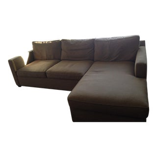 Crate & Barrel Davis Sectional