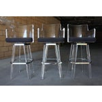 Image of Hollis Jones Lucite Bar Stools - Set of 3
