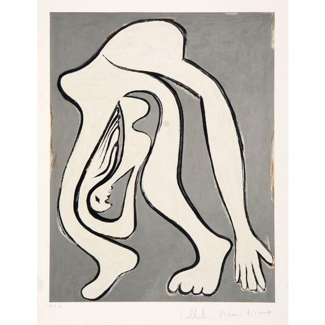 """Pablo Picasso, """"Femme Acrobate,"""" Lithograph - Image 1 of 2"""