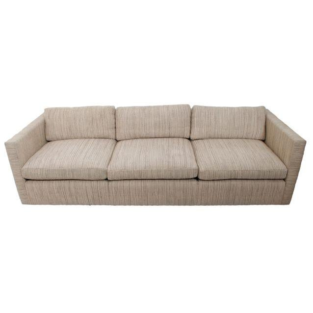 Knoll Long & Low Sofa w/ Original Upholstery - Image 2 of 10