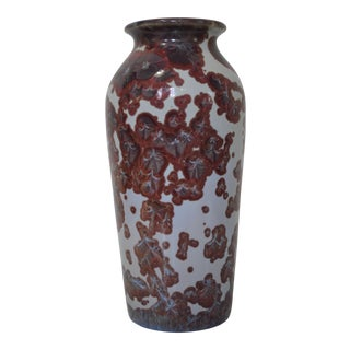 Jon Price Crystalline Ceramic Vase
