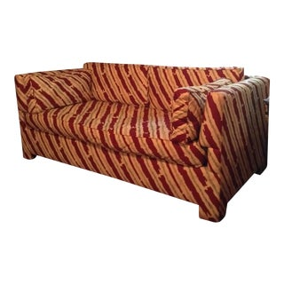 Schumacher Custom Stripe Sofa