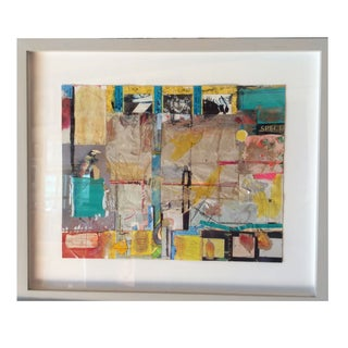 Abstract Collage - Untitled by Rosalyn Mesquita