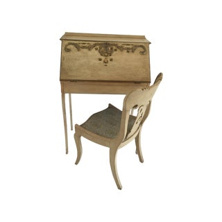 Petite French Desk and Chair