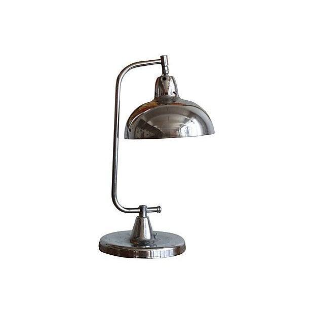 Art Deco Chrome Table Lamp - Image 1 of 5