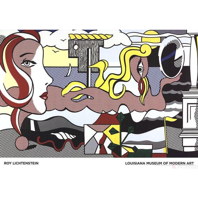 Roy Lichtenstein, Figures in Landscape, 2016 Poster - Image 1 of 2