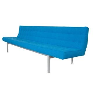 Knoll Armless Aluminum Frame Sofa